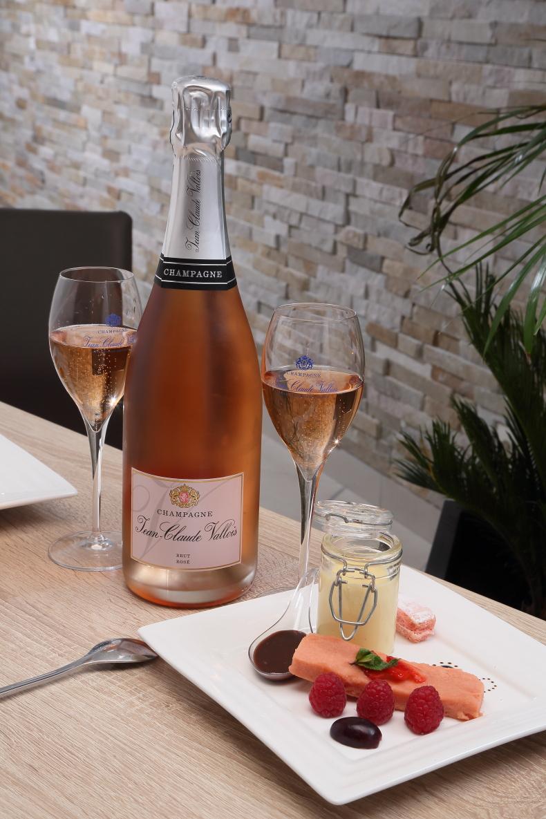 Cuvée Brut RoséJean Claude Vallois @Hervé Chevron